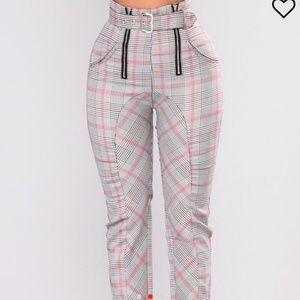 Fashion Nova Becca High Waisted Pants